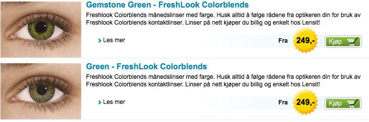 Full guide: her kjøper du billigst fargelinser på nett