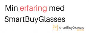 Solbriller fra SmartBuyGlasses – erfaringer