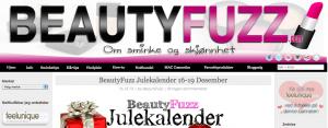 Screenshot fra Beautyfuzz. Foto og rettigheter: Beautyfuzz.com