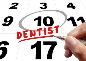 Hyppige besøk hos tannlegen kan være nyttige.