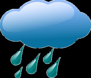Sminke og regnvær er en dårlig kombinasjon.